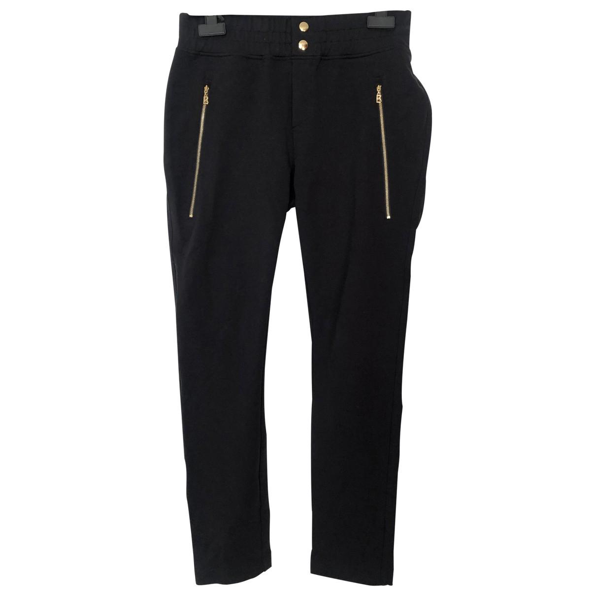 Bogner \N Black Cotton Trousers for Women S International