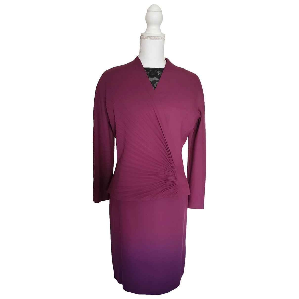 Gianni Versace \N Wool dress for Women 42 IT