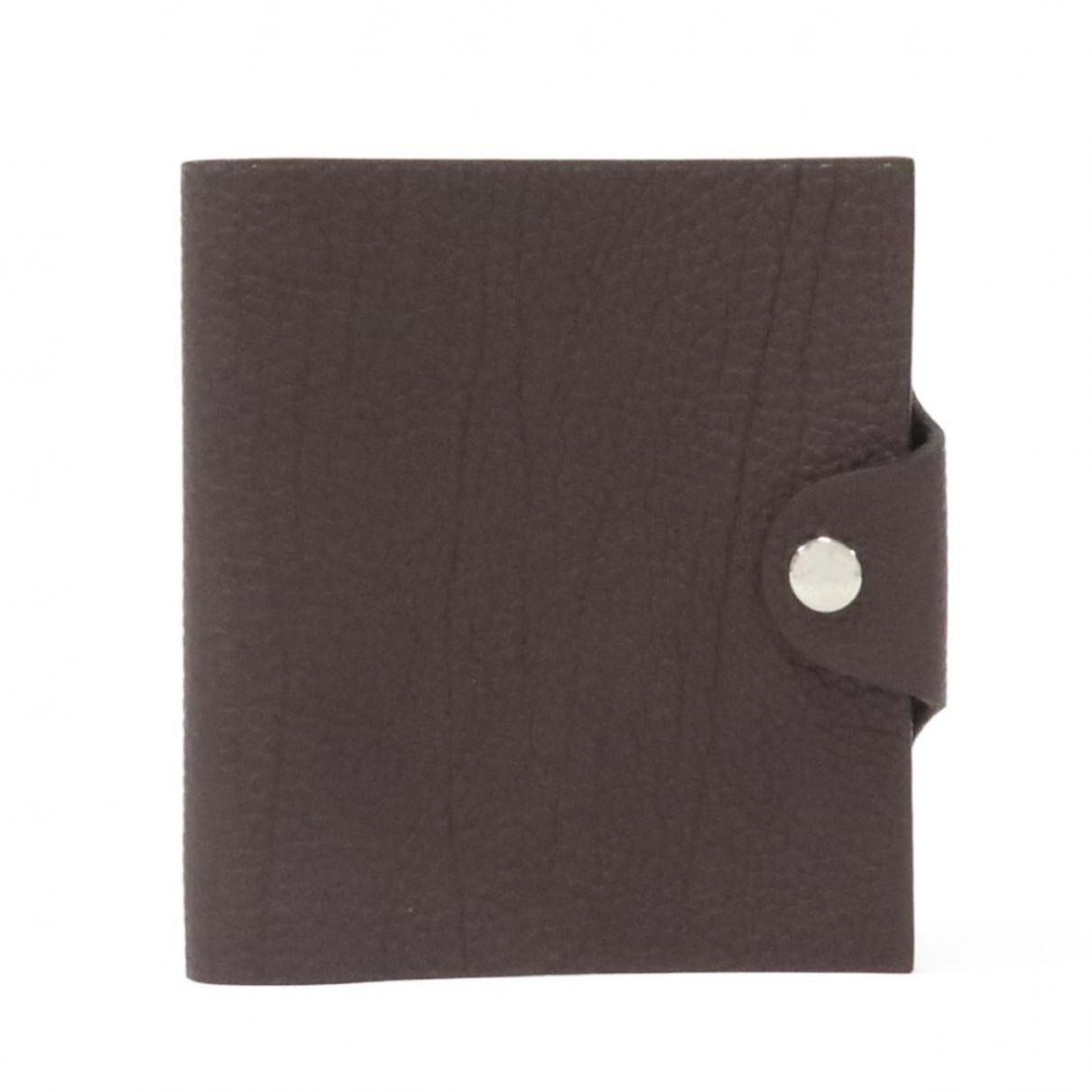 Hermès \N Brown Leather Purses, wallet & cases for Women \N