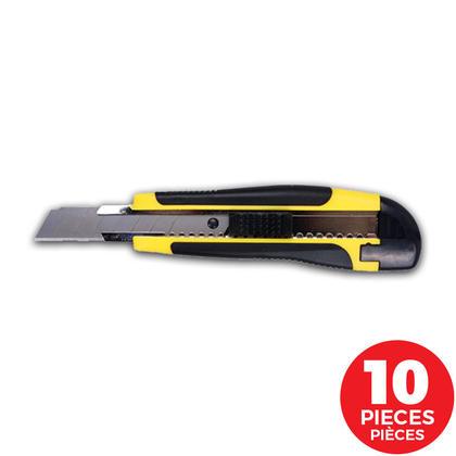 Snap-off Knife, 0.5mm Blade Thickness, 10 Pieces/Bag, Random Colour - Moustache@