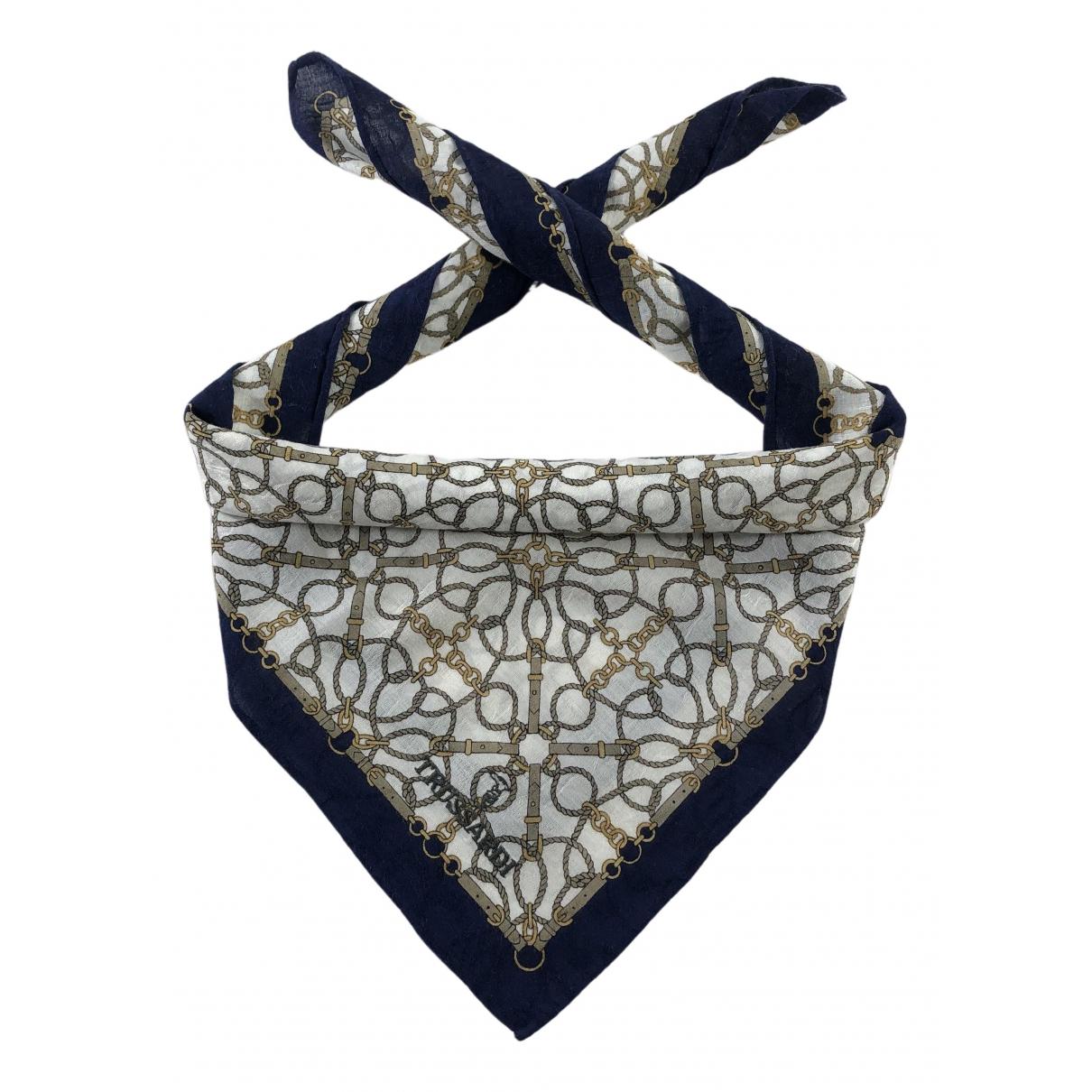 Trussardi \N Cotton scarf for Women \N