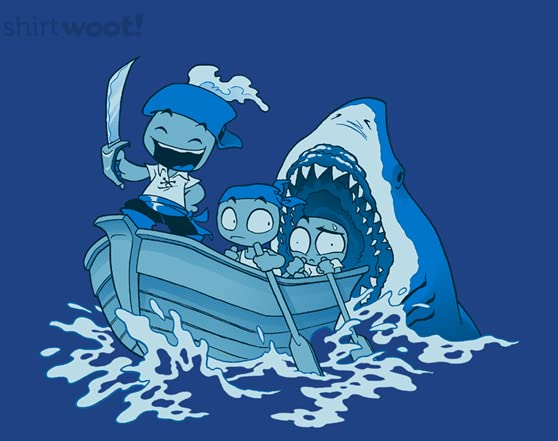 Oblivious Pirate T Shirt