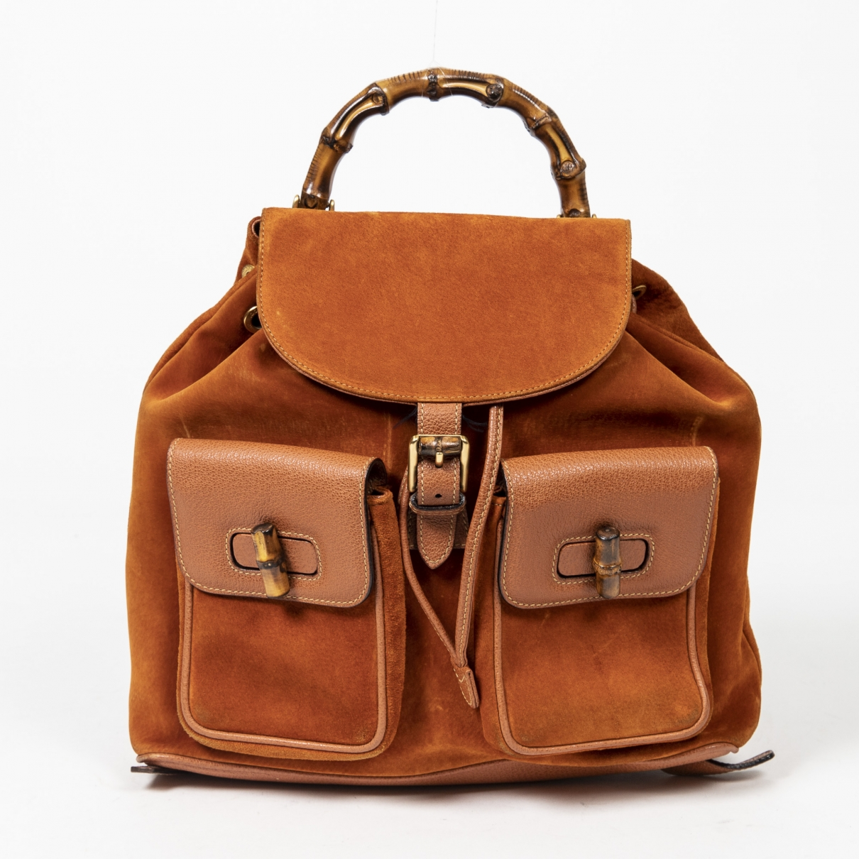 Gucci Bamboo Leather handbag for Women \N