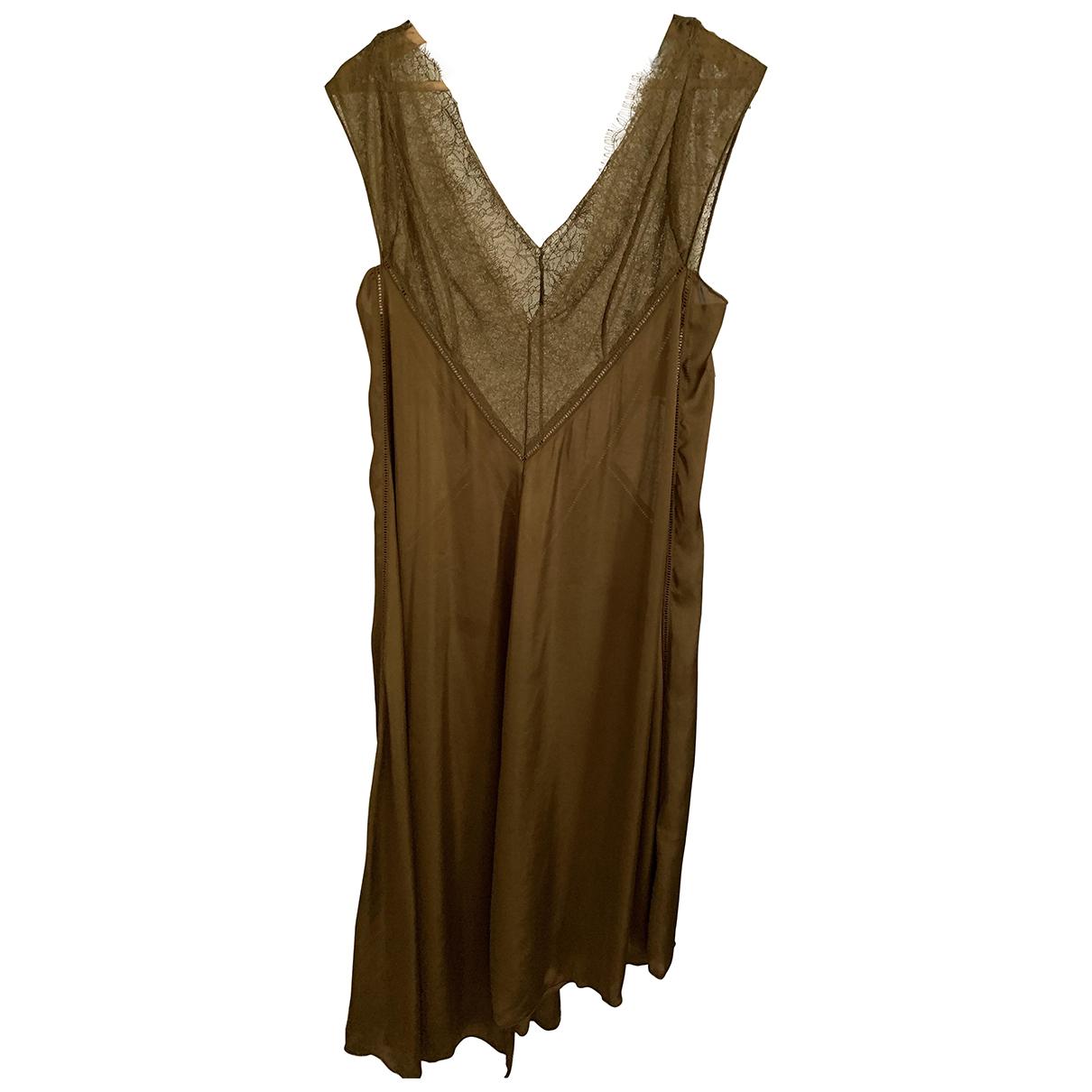 H&m Studio \N Green dress for Women 40 FR