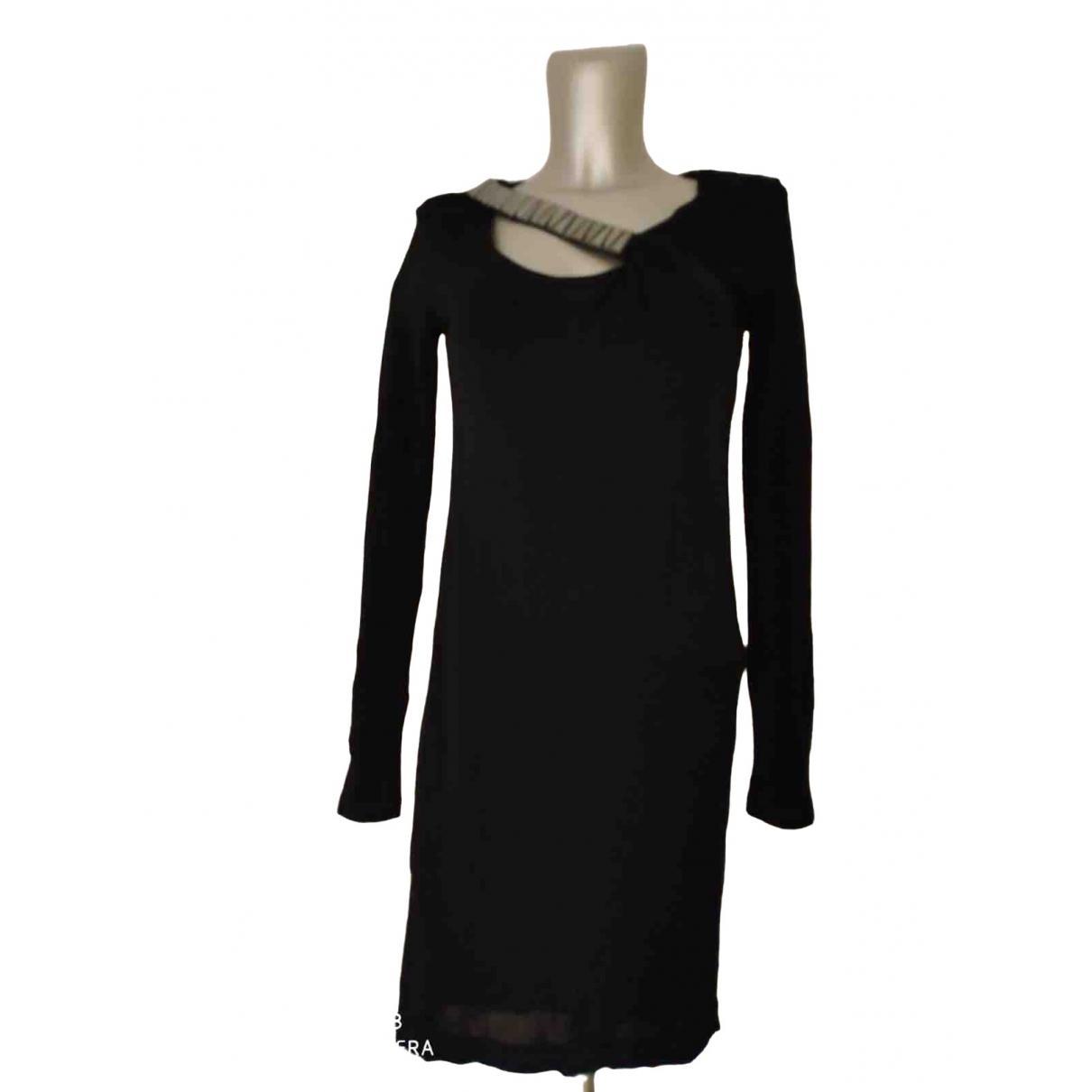 Versace Jeans \N Black dress for Women 40 IT