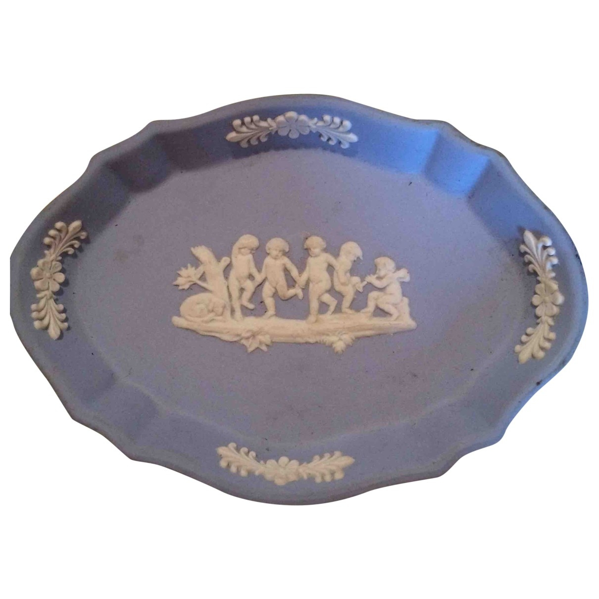 Wedgwood \N Blue Porcelain Home decor for Life & Living \N