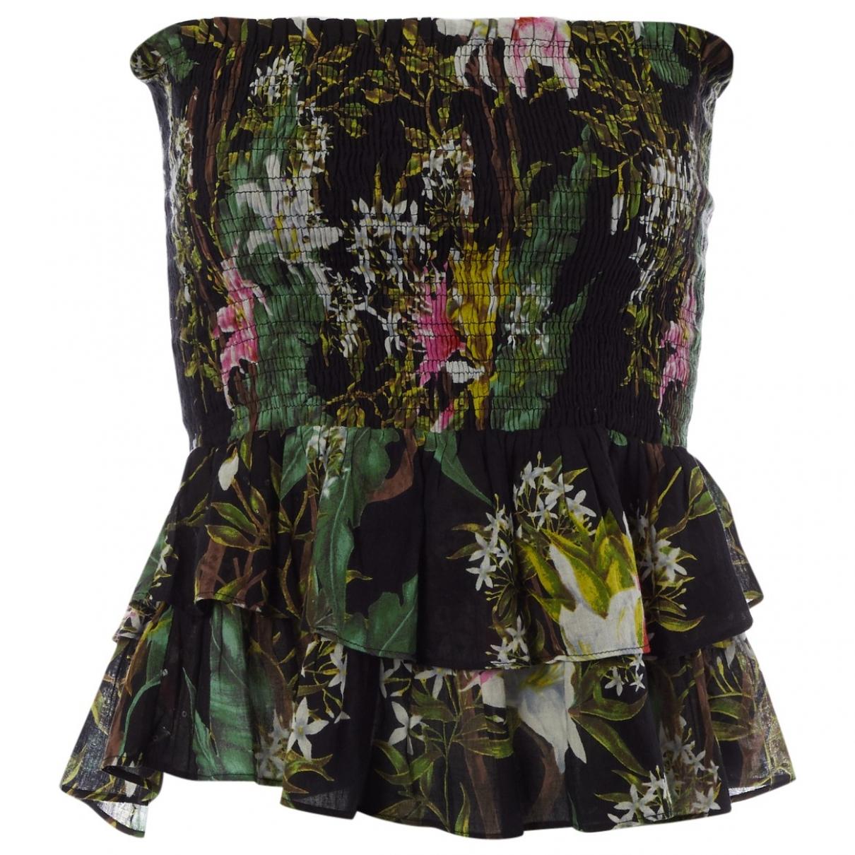 Isabel Marant Etoile \N Black Cotton  top for Women 38 FR