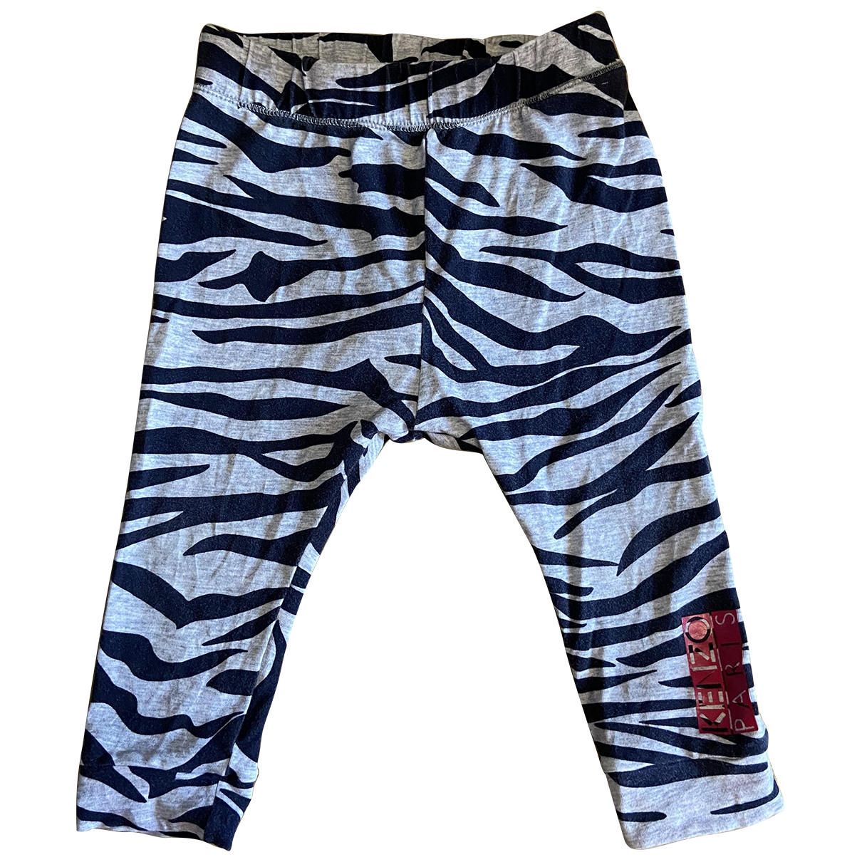 Kenzo \N Grey Cotton Trousers for Kids 18 months - up to 81cm FR