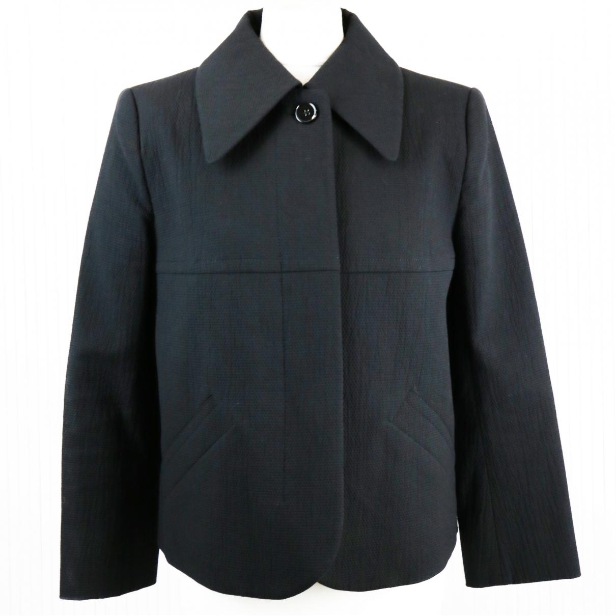 Carven \N Black Cotton jacket for Women 42 FR