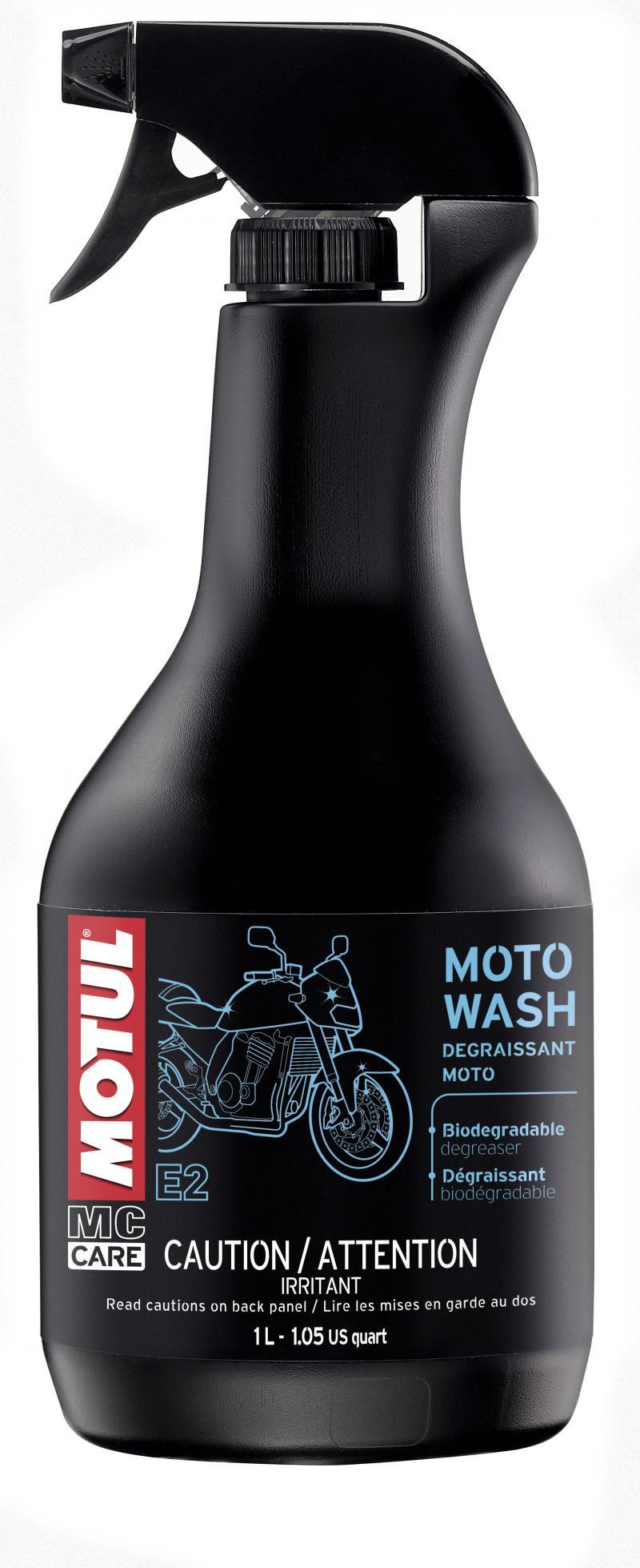 Motul E2 MOTO WASH - 1L US CAN
