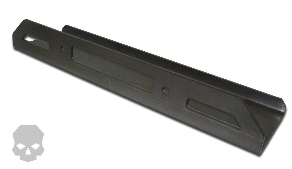 Generic Winch Plate 4.5 inch x 10 Inch Mounting Bolt Pattern Ballistic Fabrication MISC-694-5