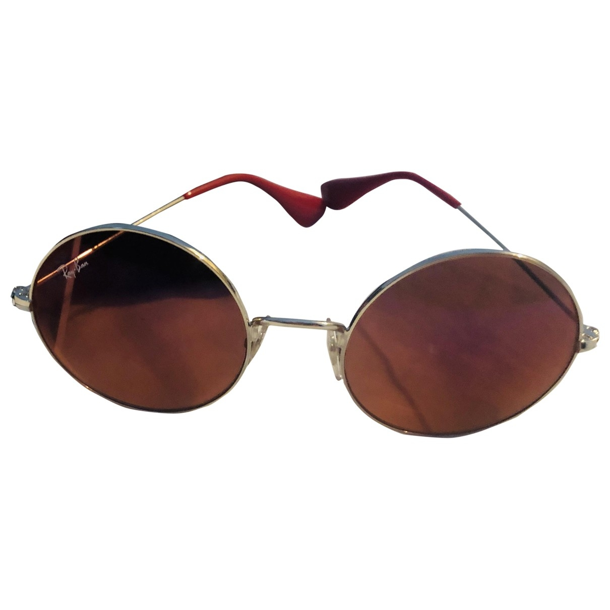 Ray-ban \N Pink Metal Sunglasses for Women \N