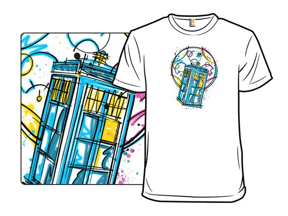 Pop Traveler T Shirt
