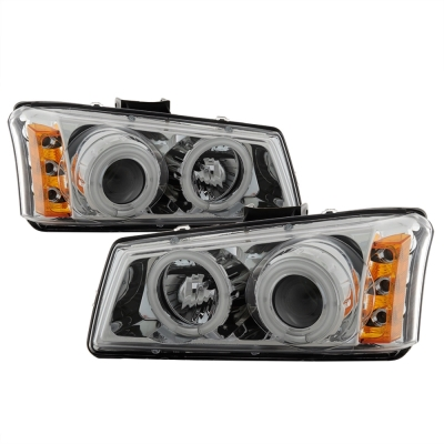 Spyder Auto Group CCFL Projector Headlights (Chrome) - 5030030