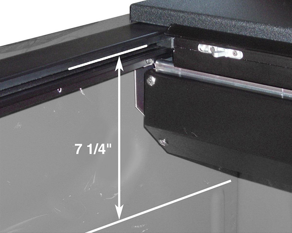 Roll-N-Lock LG101M 15-18 Ford F-150 XSB 65-5/8in M-Series Retractable Tonneau Cover
