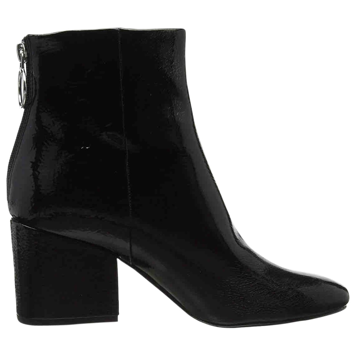 Steve Madden \N Black Patent leather Ankle boots for Women 41 EU