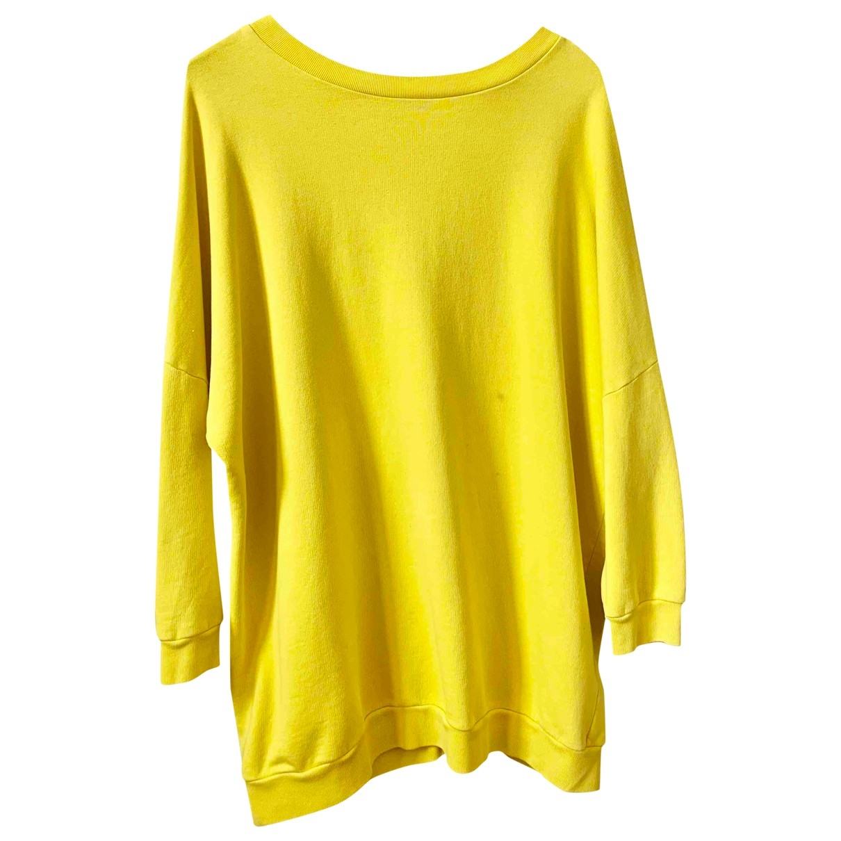 Department 5 \N Yellow Cotton Knitwear for Women 40 FR