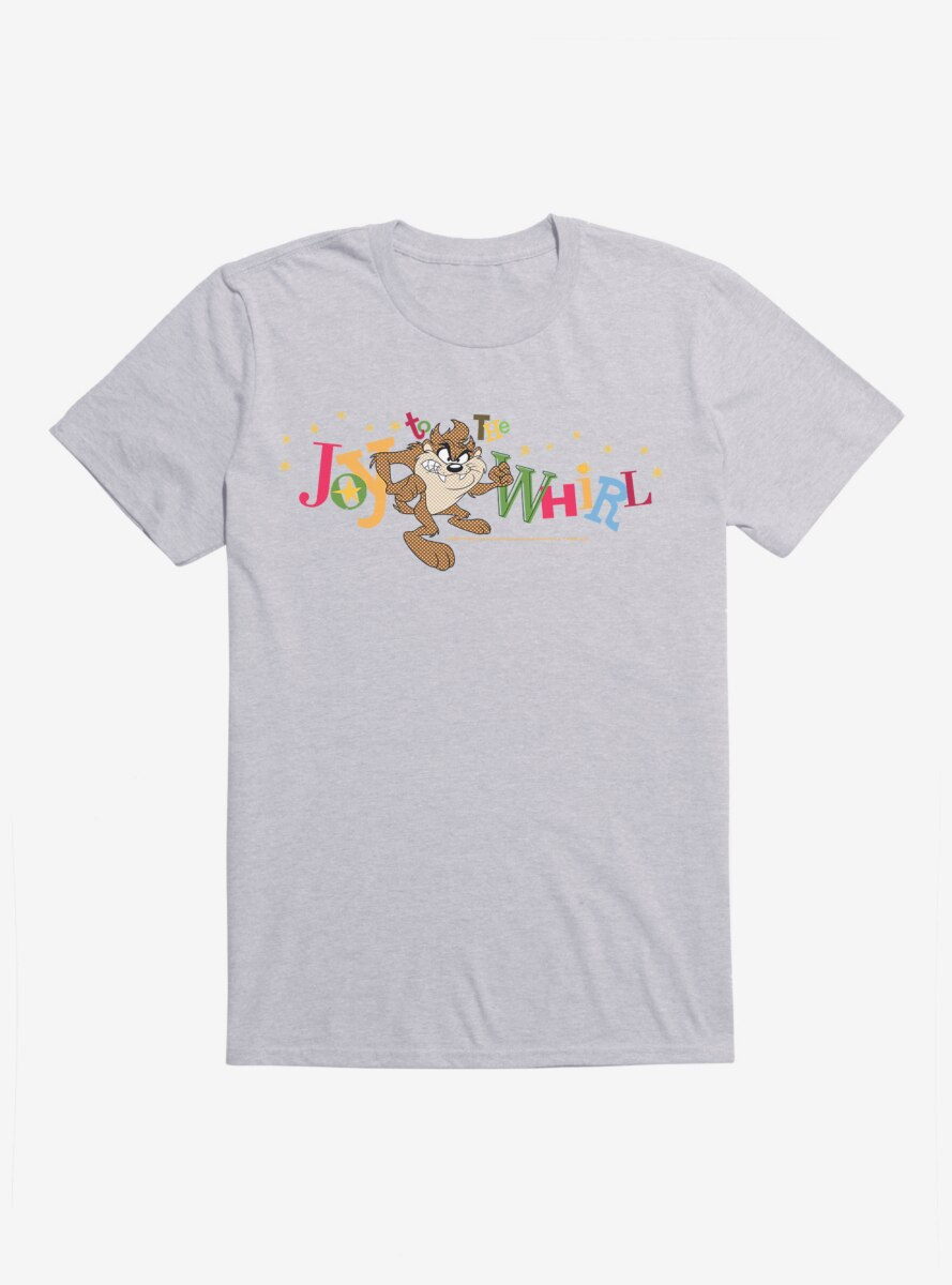 Looney Tunes Holiday Taz Joy To The Whirl T-Shirt