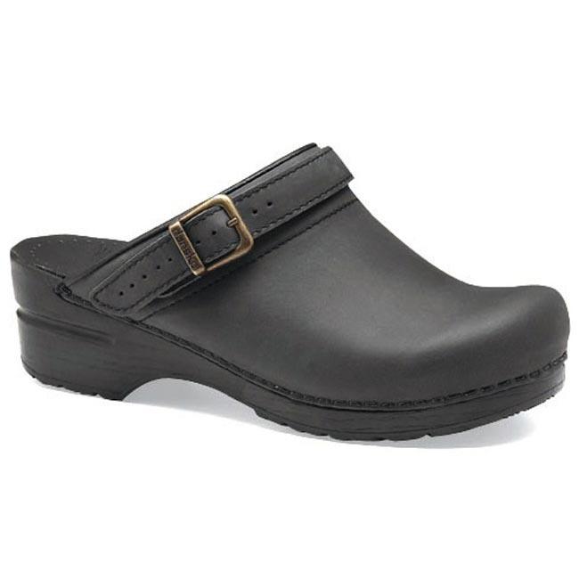 Dansko Ingrid Black Oiled Leather 38