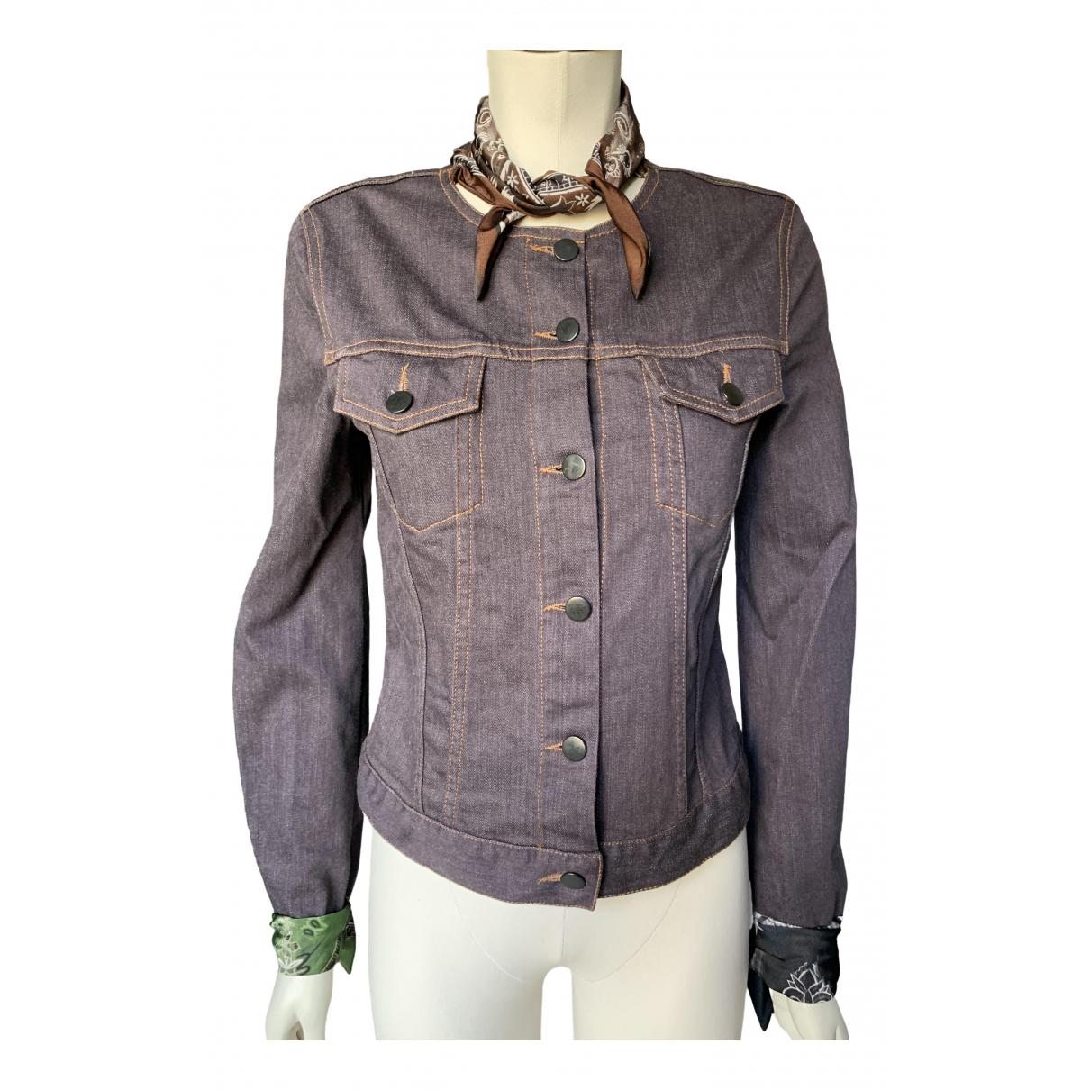 Jean Paul Gaultier \N Blue Cotton jacket for Women 38 FR
