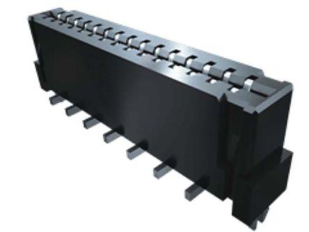 Samtec , FC1 1mm Pitch 5 Way 1 Row Vertical PCB Socket, Surface Mount, Solder Termination (77)