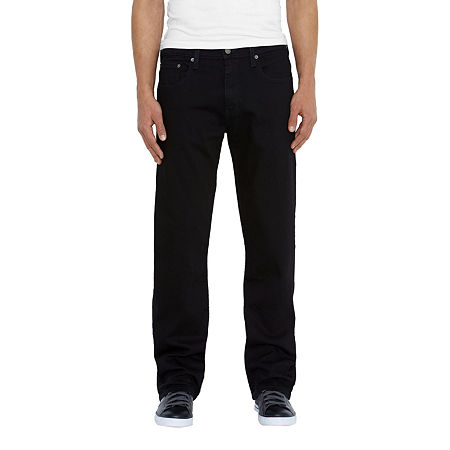 Levi's Mens 569 Loose Fit Straight Jean, 40 32, Black