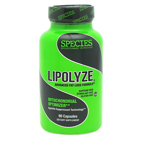 LIPOLYZE 90 Caps by Species Nutrition