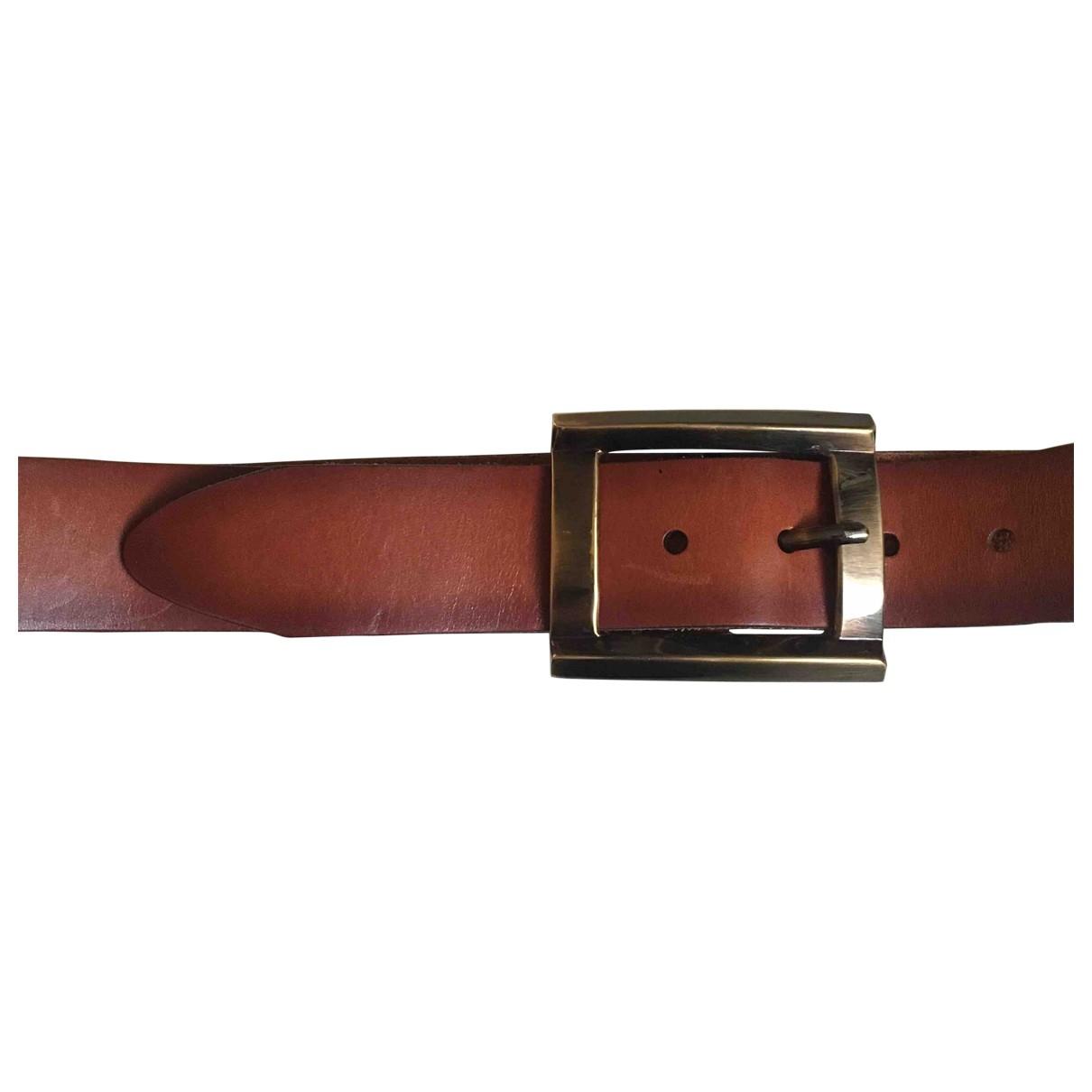Dolce & Gabbana \N Brown Leather belt for Women 90 cm