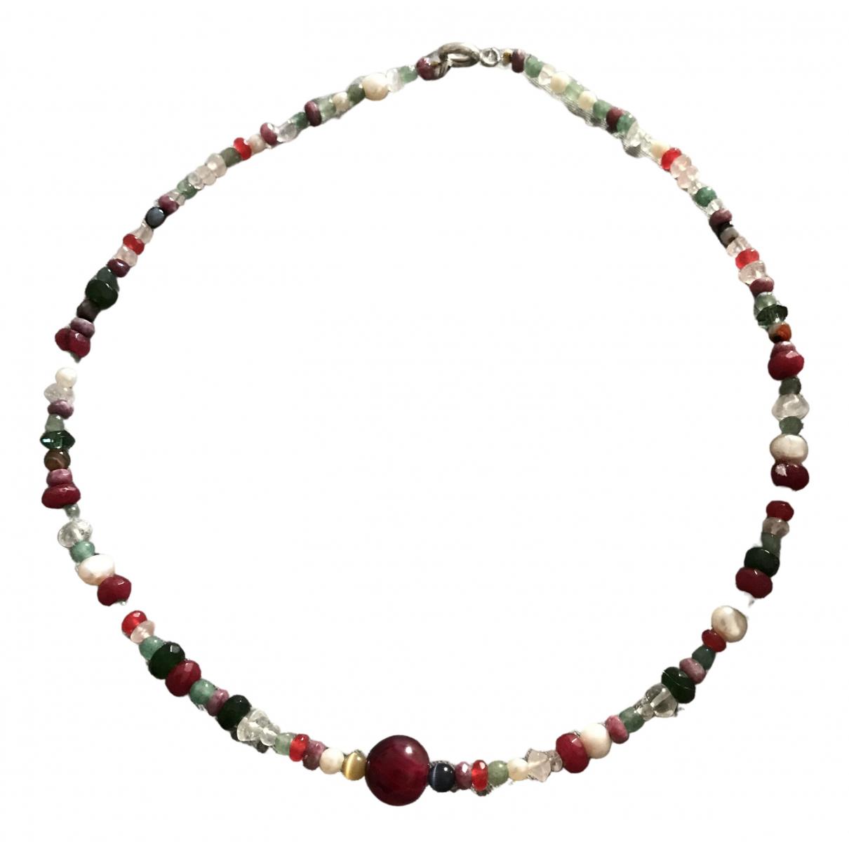 Non Signé / Unsigned Améthyste Multicolour Pearls necklace for Women \N