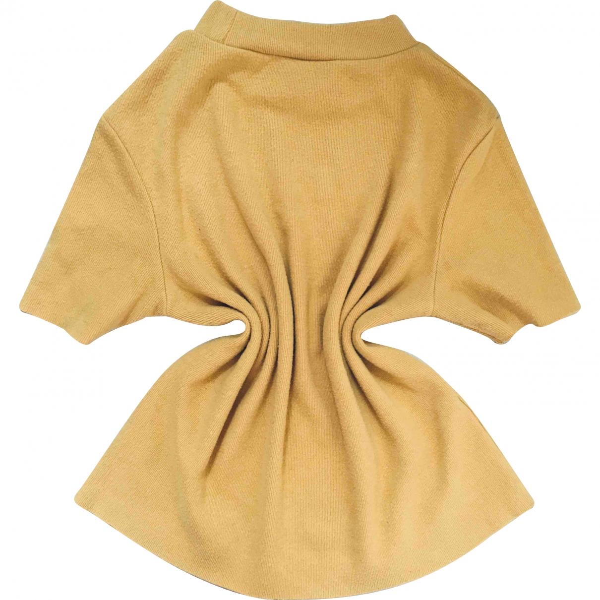Zara \N Yellow Wool  top for Women M International