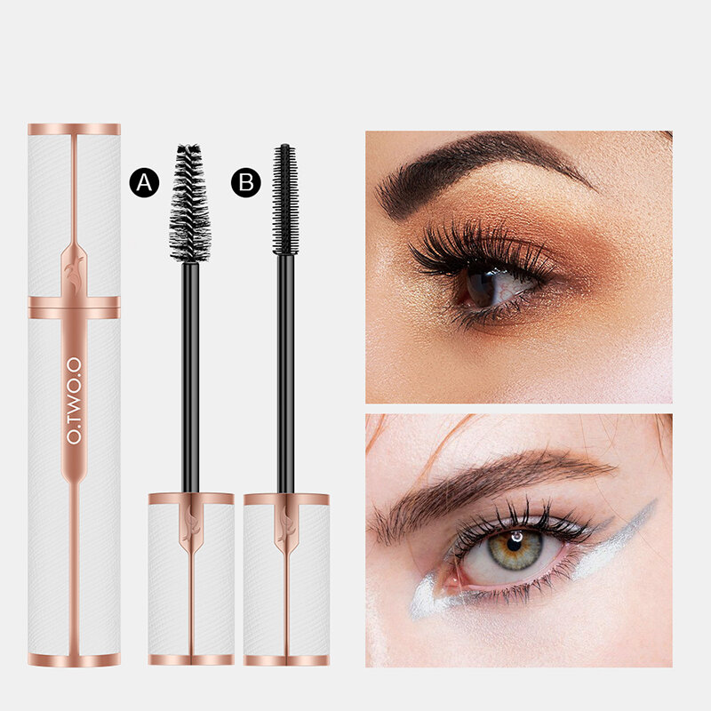 4D Mascara Waterproof Sweat-Proof Lasting Fast Dry Thick Curling Eyelash Extension Eye Makeup