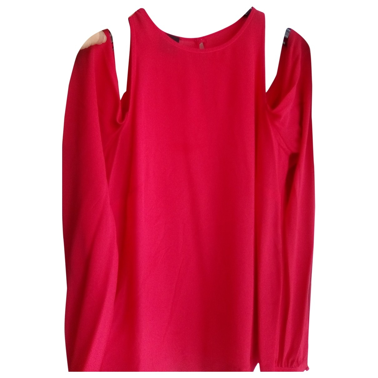 Pinko \N Red Silk  top for Women 40 IT