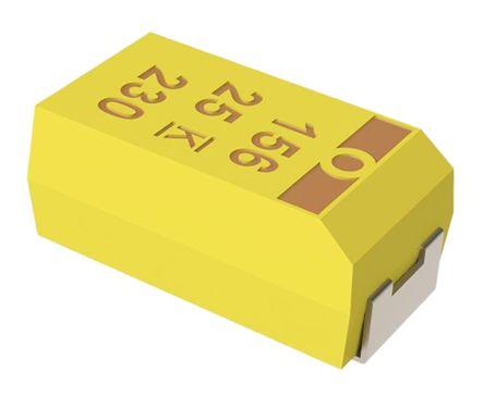 KEMET Tantalum Capacitor 22μF 16V dc MnO2 Solid ±10% Tolerance , T494 (10)