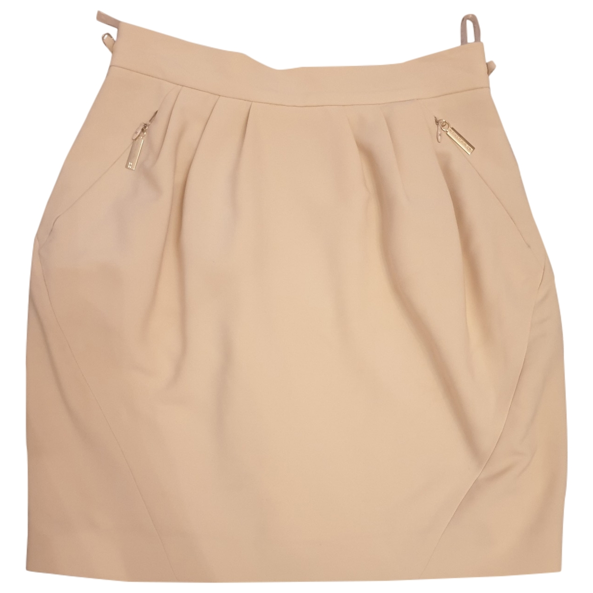 Elisabetta Franchi \N Beige skirt for Women 42 IT