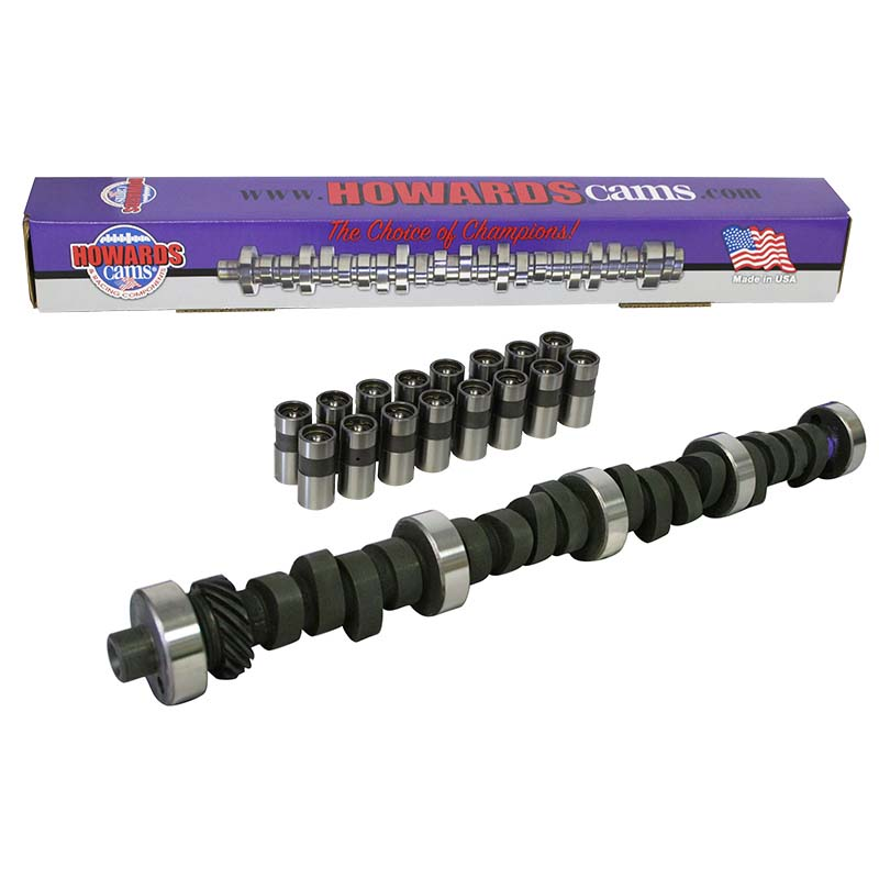 Mechanical Flat Tappet Camshaft & Lifter Kit; 1969 - 1996 Ford 351W 2000 to 5600 Howards Cams CL220542-08 CL220542-08