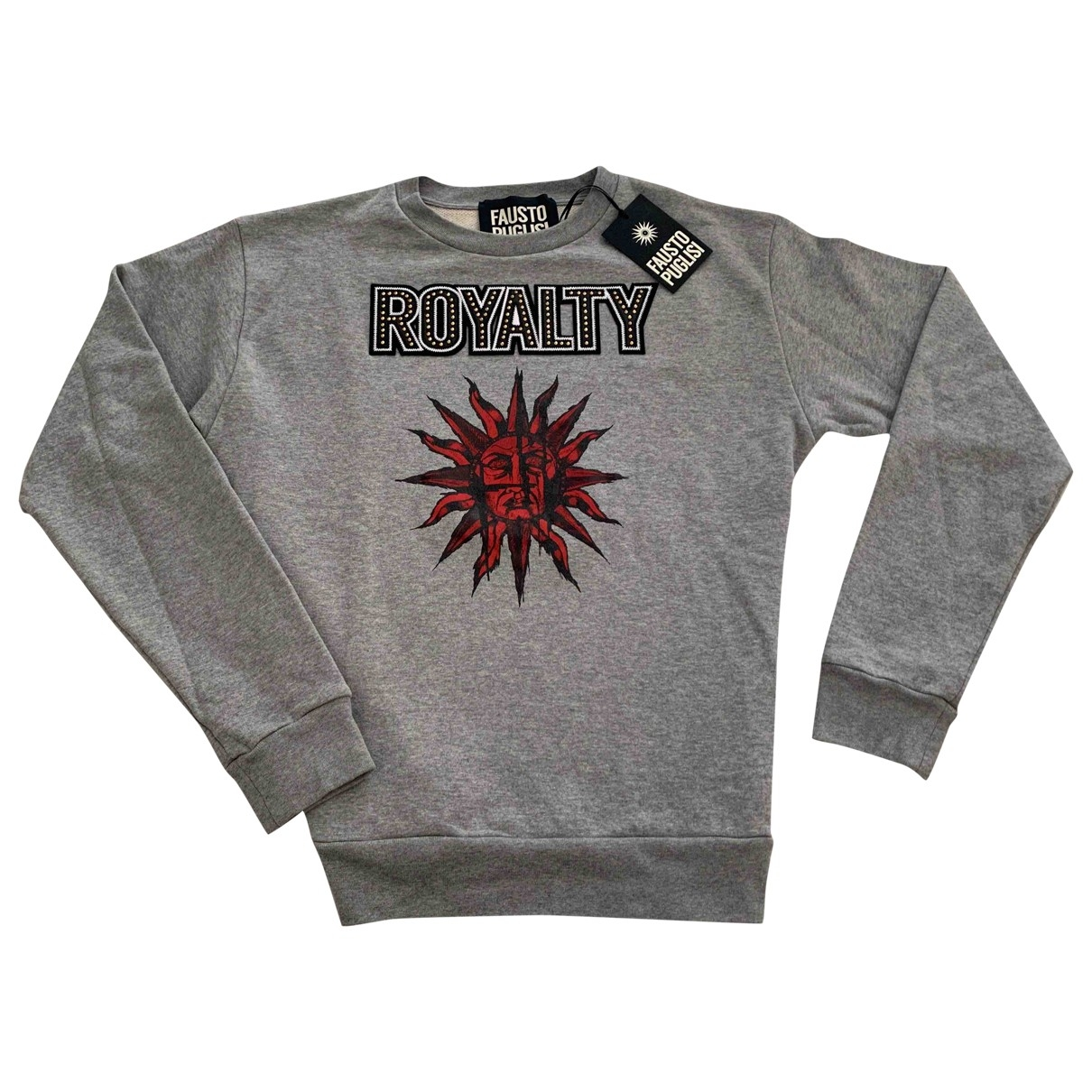 Fausto Puglisi \N Grey Cotton Knitwear & Sweatshirts for Men M International