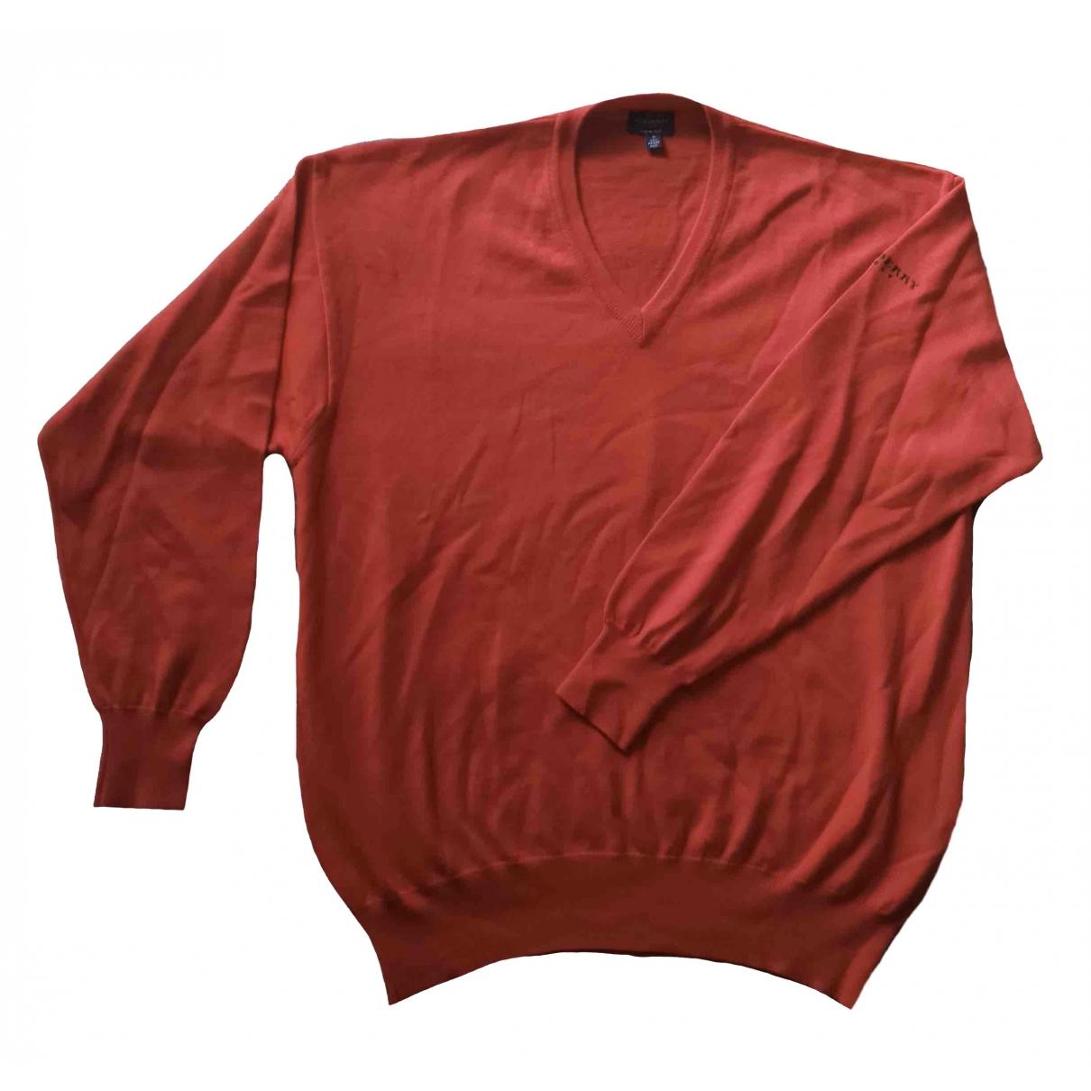 Burberry \N Red Wool Knitwear & Sweatshirts for Men S International