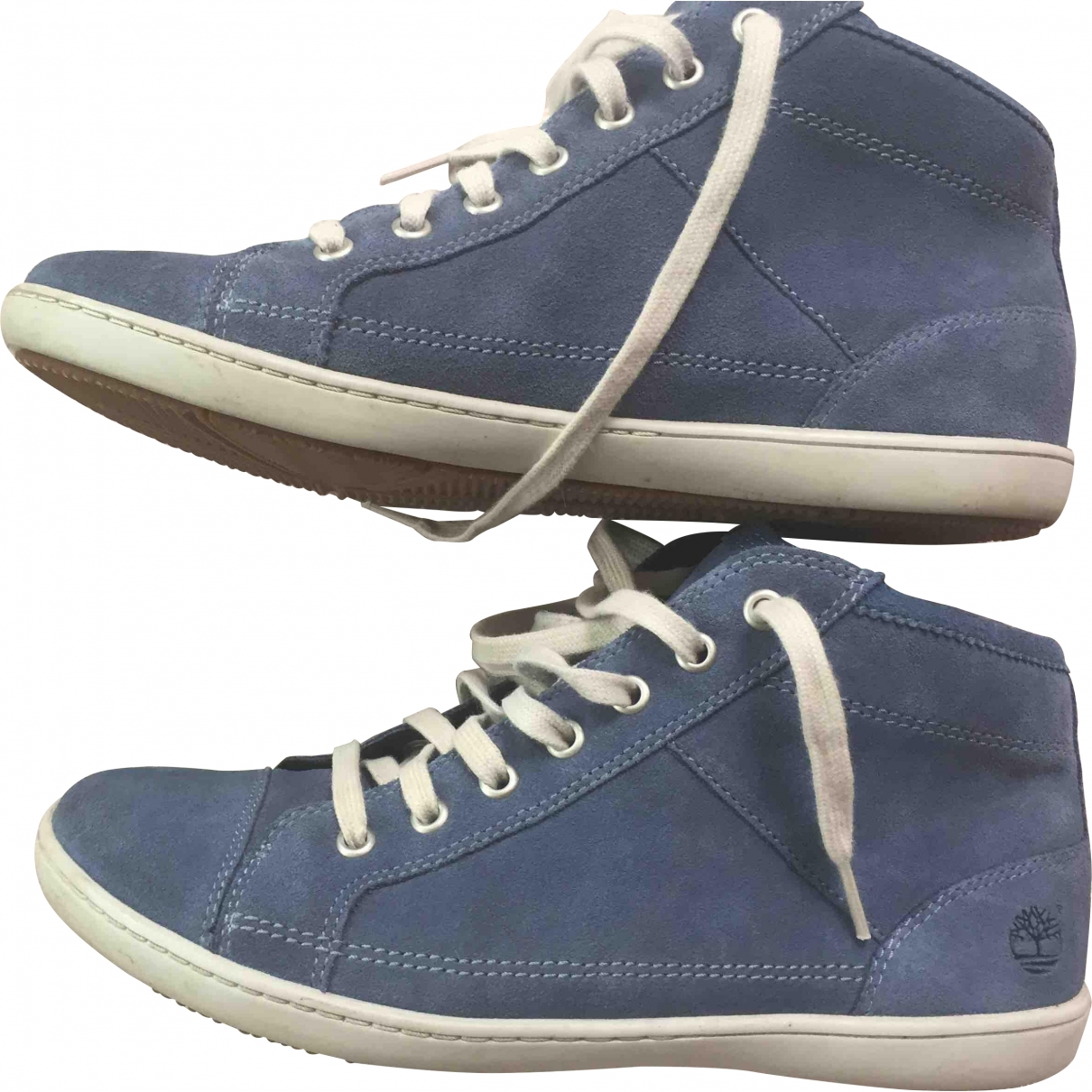 Timberland \N Blue Suede Ankle boots for Women 5.5 UK