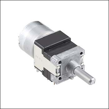 Alps Alpine 4 Gang Rotary Potentiometer with an 6 mm Dia. Shaft, ±20%, 0.05W Power Rating, Logarithmic, Through Hole
