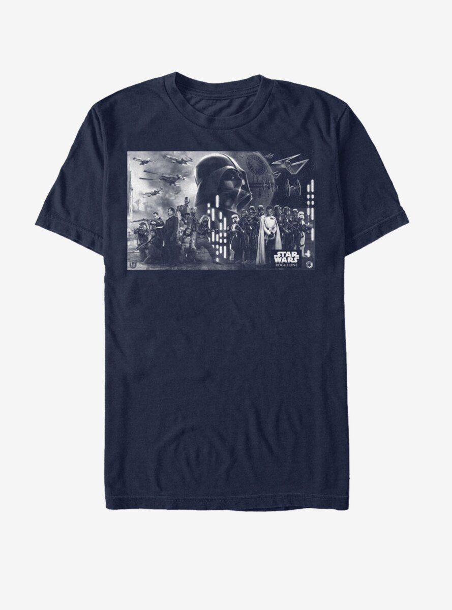 Star Wars Death Star Battle Groupshot T-Shirt