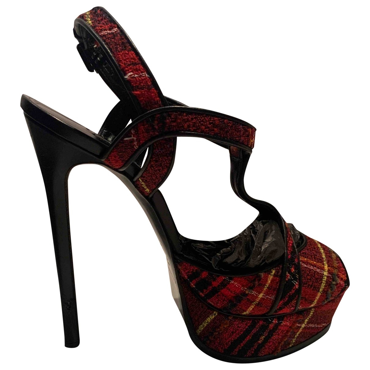 Casadei \N Red Leather Heels for Women 39 EU