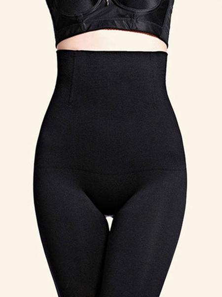 Milanoo Women High Waist Shapewear Stretched Panties Body Shaper