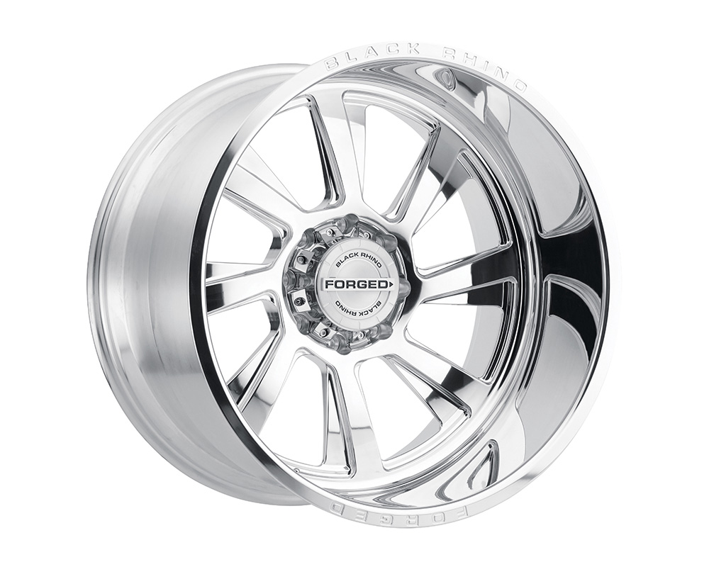 Black Rhino Blaster Wheel 22x14 8x170 -76mm Polished Left