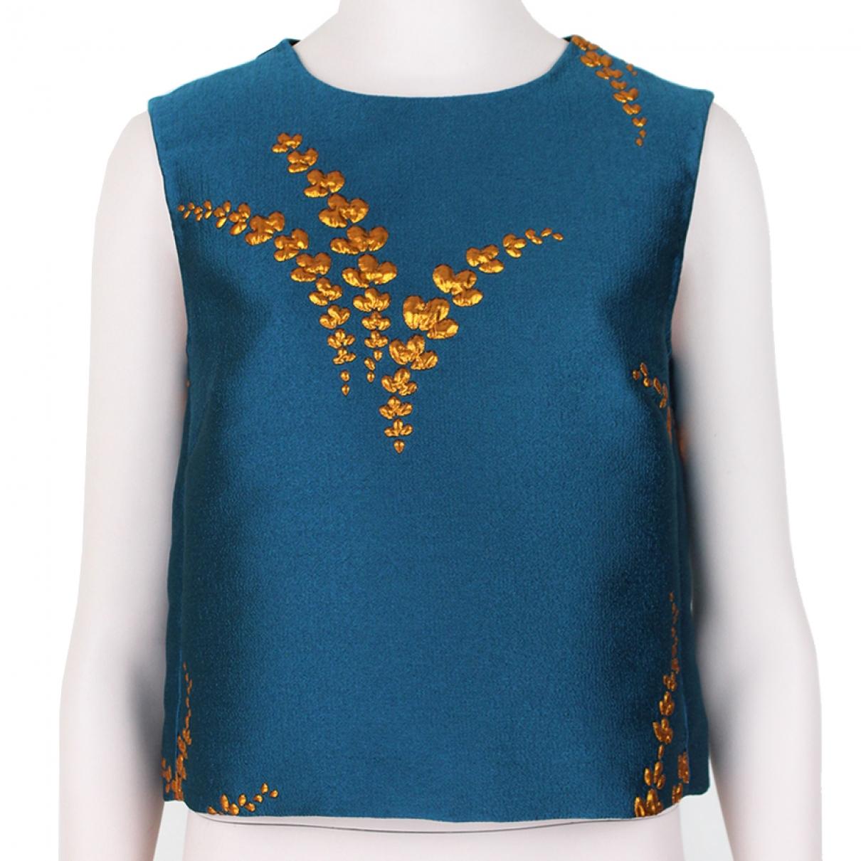 Dries Van Noten \N Blue  top for Women 36 FR