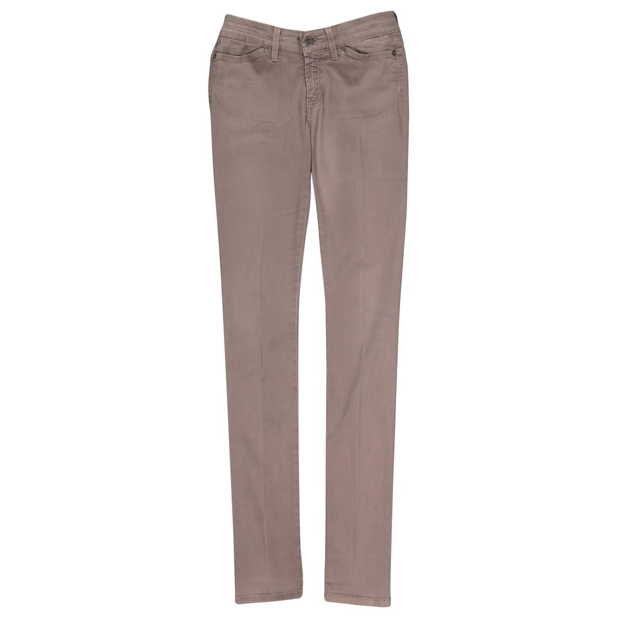 Stella Mccartney \N Grey Cotton - elasthane Jeans for Women 26 US