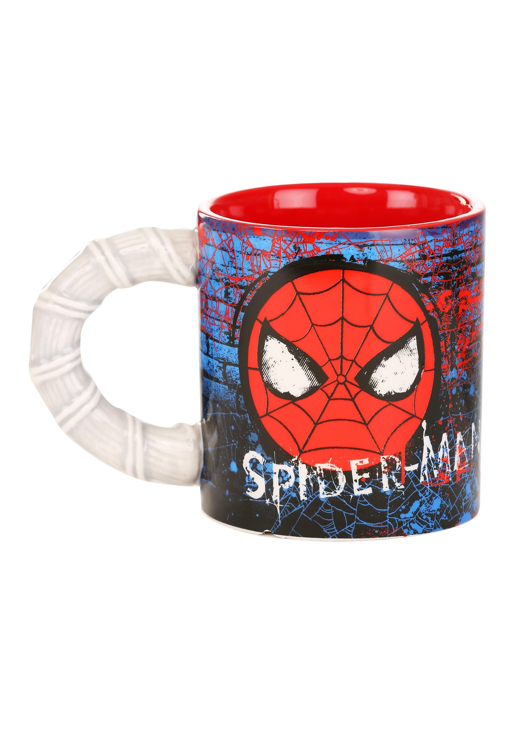 Spider-Man Brick Web Slinger 20oz Ceramic Mug