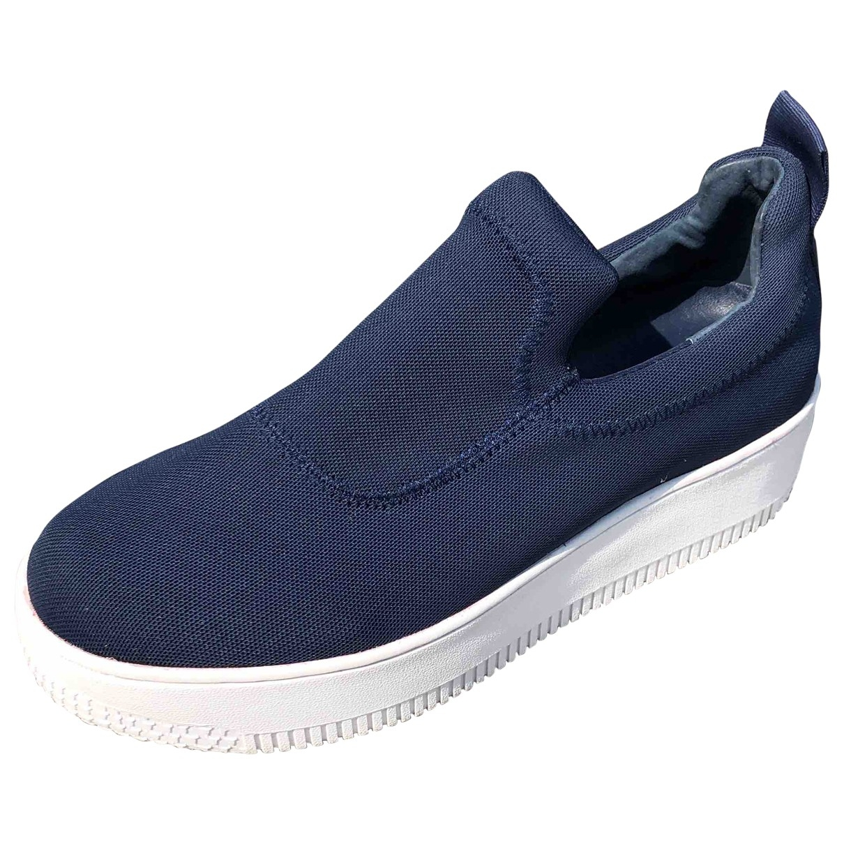 Non Signé / Unsigned \N Blue Cloth Trainers for Women 41 EU
