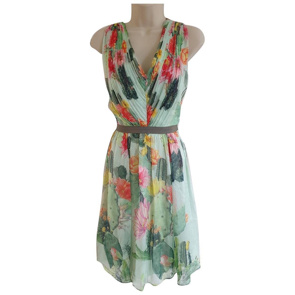Matthew Williamson \N Green Silk dress for Women 12 UK
