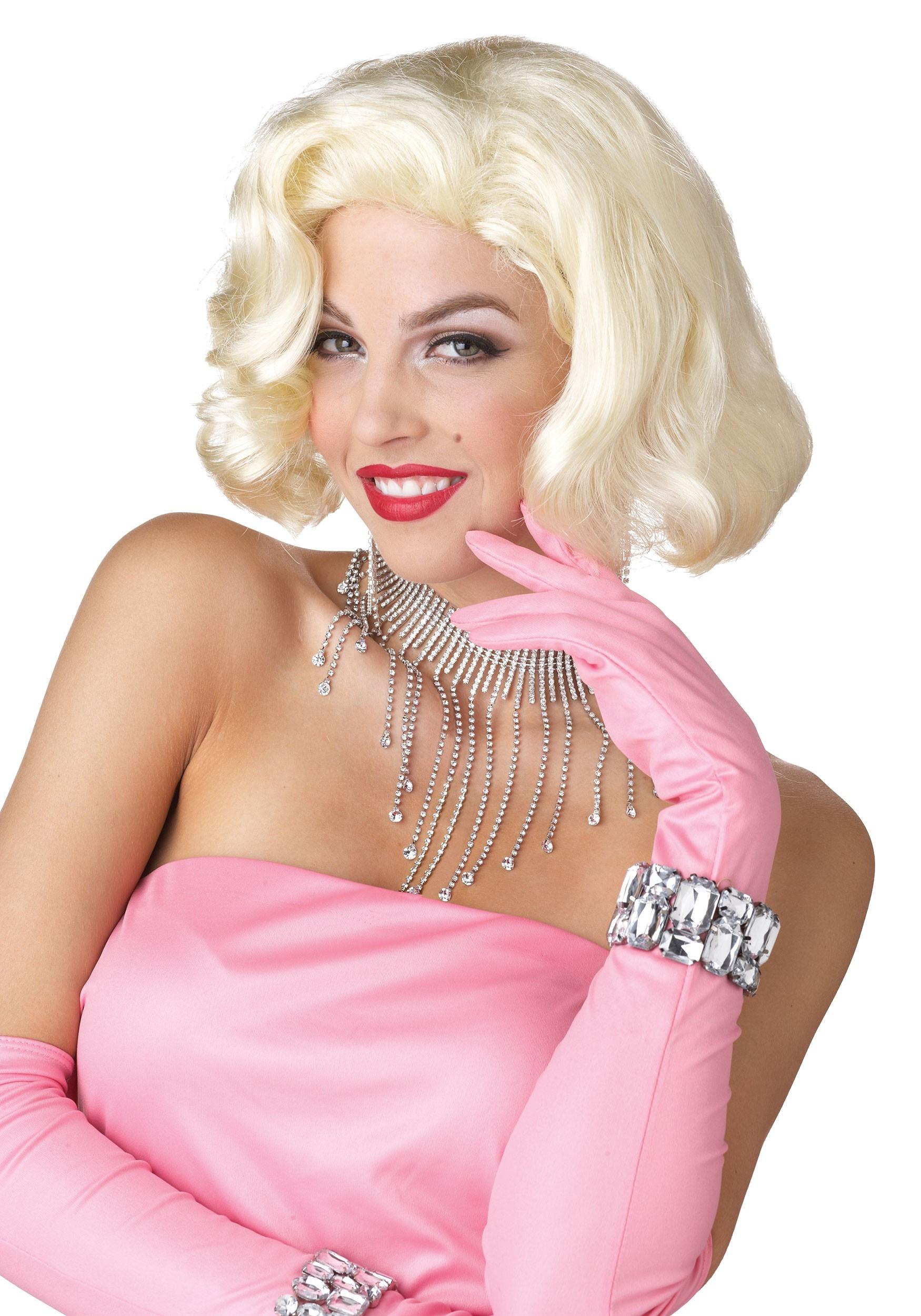 Marilyn Monroe Diamonds Wig for Women