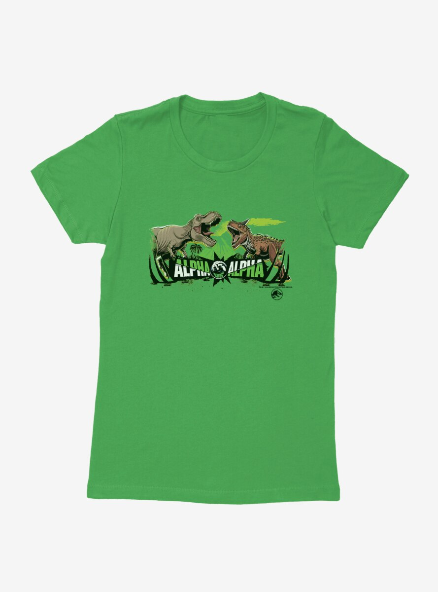 Jurassic World Alpha Vs. Alpha Womens T-Shirt